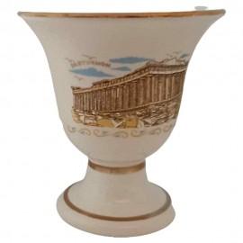Cup of Pythagoras or dikaia koupa - ceramics