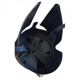 Greek helmets made of steel in real size
